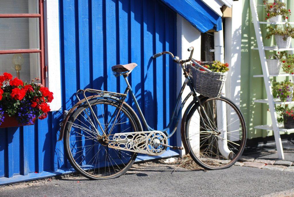 dove affittare biciclette in Svezia