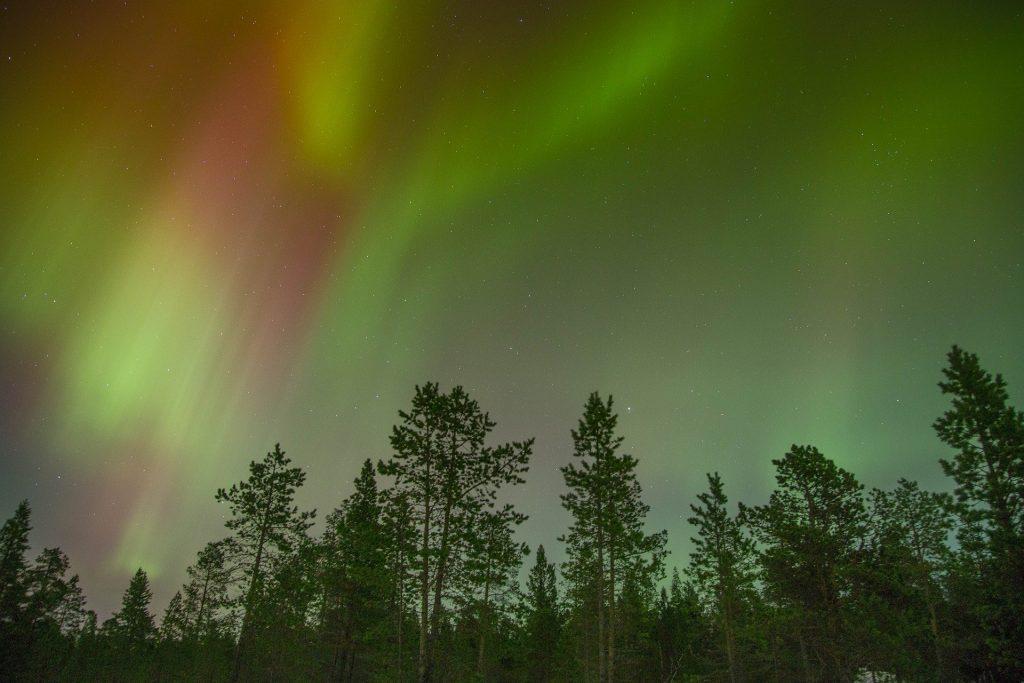 aurora boreale Svezia