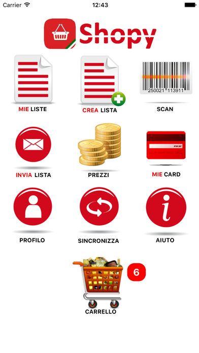 App per la spesa